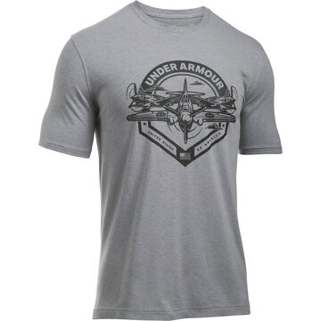 Under Armour Mens UA Freedom by Air Short-Sleeve T-Shirt