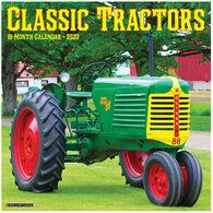 Willow Creek Press Classic Tractors 2022 Wall Calendar