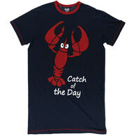 Lazy One Women's Catch of the Day Lobster Nightshirt