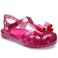 Crocs Girl's Isabella Bow Embellished Sandal
