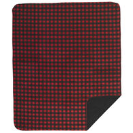 Monterey Mills Denali Red And Black Buffalo Check Throw Blanket