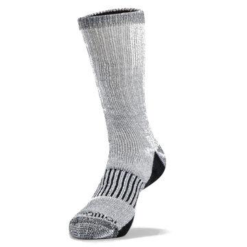 Terramar Mens All Season Wool Blend Crew Sock, 4/pk