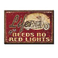 Desperate Enterprises Red Lights Ice Box Magnet