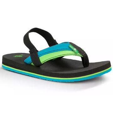 Sanuk Kids Rootbeer Cozy Light Sandal