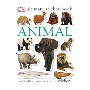 Animals Ultimate Sticker Book by DK Publishing