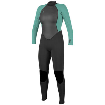 ONeill Womens Reactor II 3/2MM Back-Zip Full Wetsuit