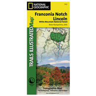 National Geographic Franconia Notch, Lincoln Trails Illustrated Map