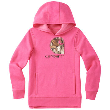 Carhartt Girls Camo C Sweatshirt
