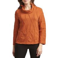 Habitat Women's Heather Ripple Cowl Tunic