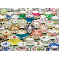 Outset Media Jigsaw Puzzle - Teacups