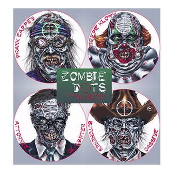 TargDots Zombie Target Variety Pack - 12 Pk.