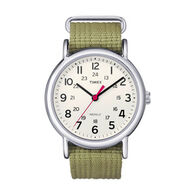 Timex Weekender Slip Thru Strap Full-Size Watch