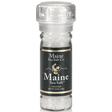 Maine Sea Salt Natural Maine Sea Salt Refillable Grinder