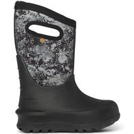 Bogs Boys' Neo-Classic Micro Camo Insulated Boot