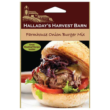Halladay's Harvest Barn Farmhouse Onion Burger Mix