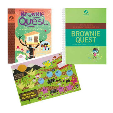 Girl Scouts Brownie How To Guide Facilitator Set