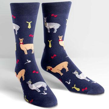 Sock It To Me Mens Llama Drama Sock