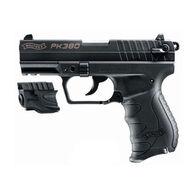 "Walther PK380 Black 380 ACP 3.66"" 8-Round Pistol w/ Laser"