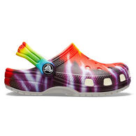 Crocs Boys & Girls' Classic Tie-Dye Graphic Clog