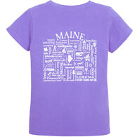 Where Life Takes You Women's Maine Destination KTP Short-Sleeve T-Shirt