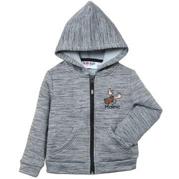 Renegade Club Toddler Power Stretch Full-Zip Hoodie