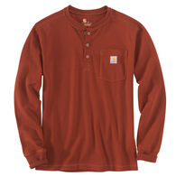 Carhartt Men's Relaxed Fit Heavyweight Henley Pocket Thermal Long-Sleeve T-Shirt