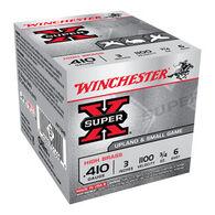 "Winchester Super-X High Brass 410 GA 3"" 3/4 oz. #6 Shotshell Ammo (25)"