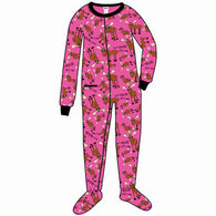 Lazy One Women's Don't Moose With Me Footie Pajama