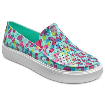 Crocs Girls CitiLane Roka Graphic Slip-On Shoe