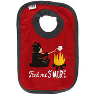 Lazy One Infant Boy's Feed Me S'More Bib