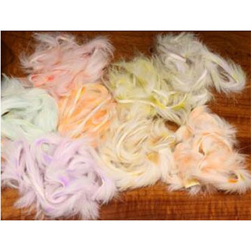 Hareline Micro Cut Groovy Bunny Strips Fly Tying Material