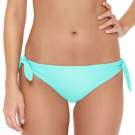 Hot Water Women's Solid Bikini Swimsuit Bottom