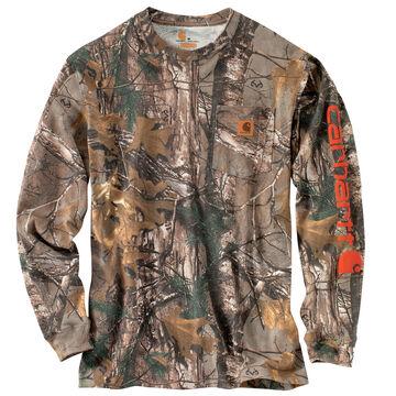 Carhartt Mens Workwear Graphic Camo Long-Sleeve T-Shirt