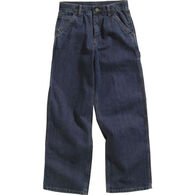 Carhartt Boys' Washed Denim Dungaree Pant