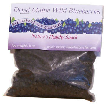 Bar Harbor Jam Dried Blueberries, 5 oz.