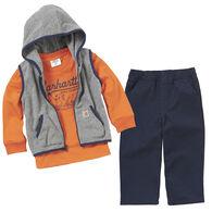 Carhartt Infant Boy's Vest 3-Piece Set