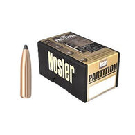 "Nosler Partition 6.5mm 140 Grain .264"" Spitzer Point Rifle Bullet (50)"