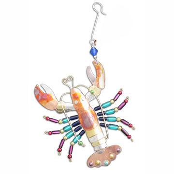 Pilgrim Imports Rainbow Lobster Ornament