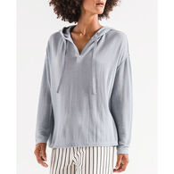 Z Supply Women's Breezy Rib Long-Sleeve Hoodie