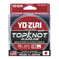 Yo-Zuri TopKnot Fluorocarbon MainLine Saltwater Fishing Line - 200 Yards
