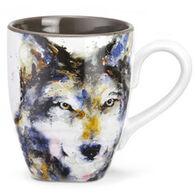 Big Sky Carvers Wolf Mug