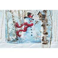 Pumpernickel Press Birchwood Snowman Deluxe Boxed Greeting Cards