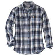 Carhartt Men's Big & Tall Trumbull Plaid Long-Sleeve Shirt