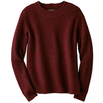 Pendleton Woolen Mills Womens Ribbed Lambswool Pullover Sweater