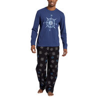Life is Good Men's LIG Compass Toss Classic Sleep Pant