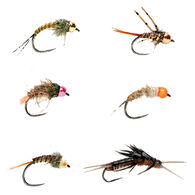 Fulling Mill Barbless Nymph Fly Selection - 6 Pk.