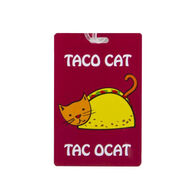 Travelon Taco Cat Luggage Tag