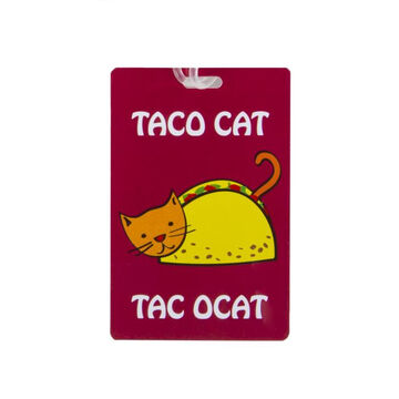 Travelon Taco Cat Luggage Tag