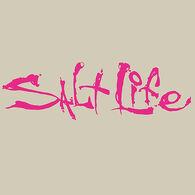 Salt Life Signature Small Decal - Pink