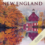Willow Creek Press New England 2018 Wall Calendar